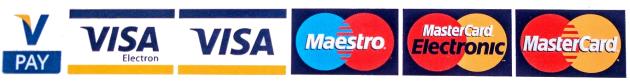 platební karty loga
